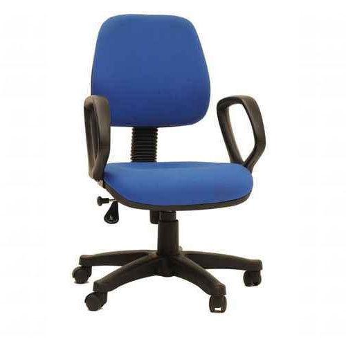 Blue Revolving Computer Chair Next